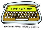 Nano over a typewriter
