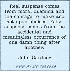 john Gardner Real suspense