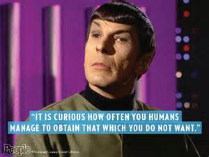 Nimoy quote humans obtain